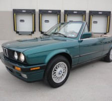 1993 BMW 325ic Green 017